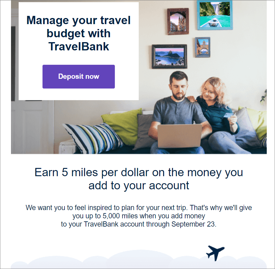 """Today in airlines making desperate pleas to consumers to """"invest"""" money for an eventual future trip...  But, hey, #loyalty points, too!  #PaxEx https://t.co/j0UG8034ct"""