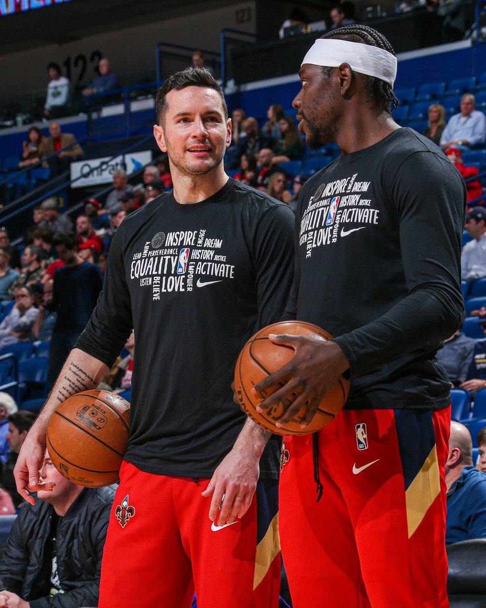 25 combined years of NBA experience in this pic 🙌 @jj_redick x @Jrue_Holiday11