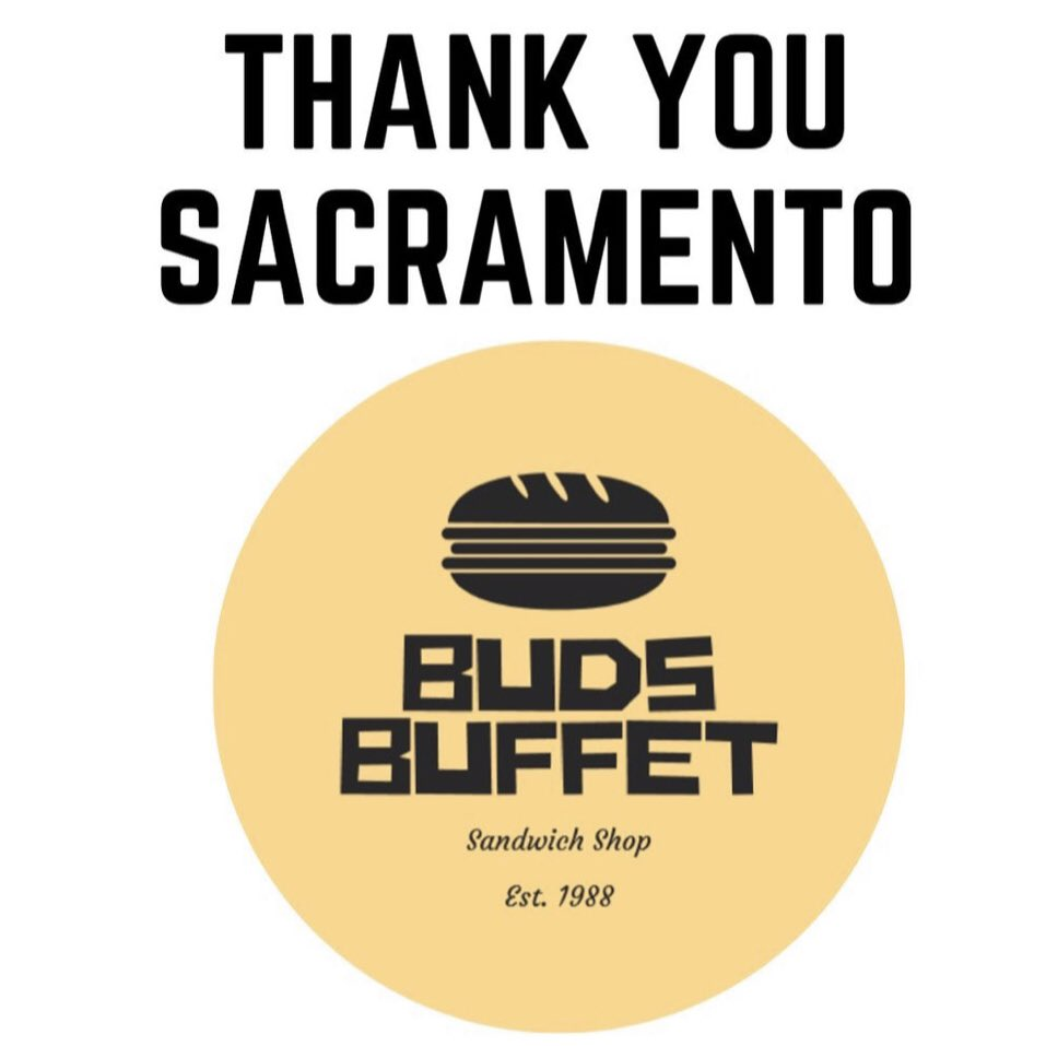 We are saddened to hear @Budsbuffet1 is closing tomorrow, September 18. 💔 We hope they are able to reopen in #DowntownSac, but you can still support them for their last day. 🕝 10:30 am - 2 pm  📍 1016 10th Street https://t.co/UH5EA91tSl