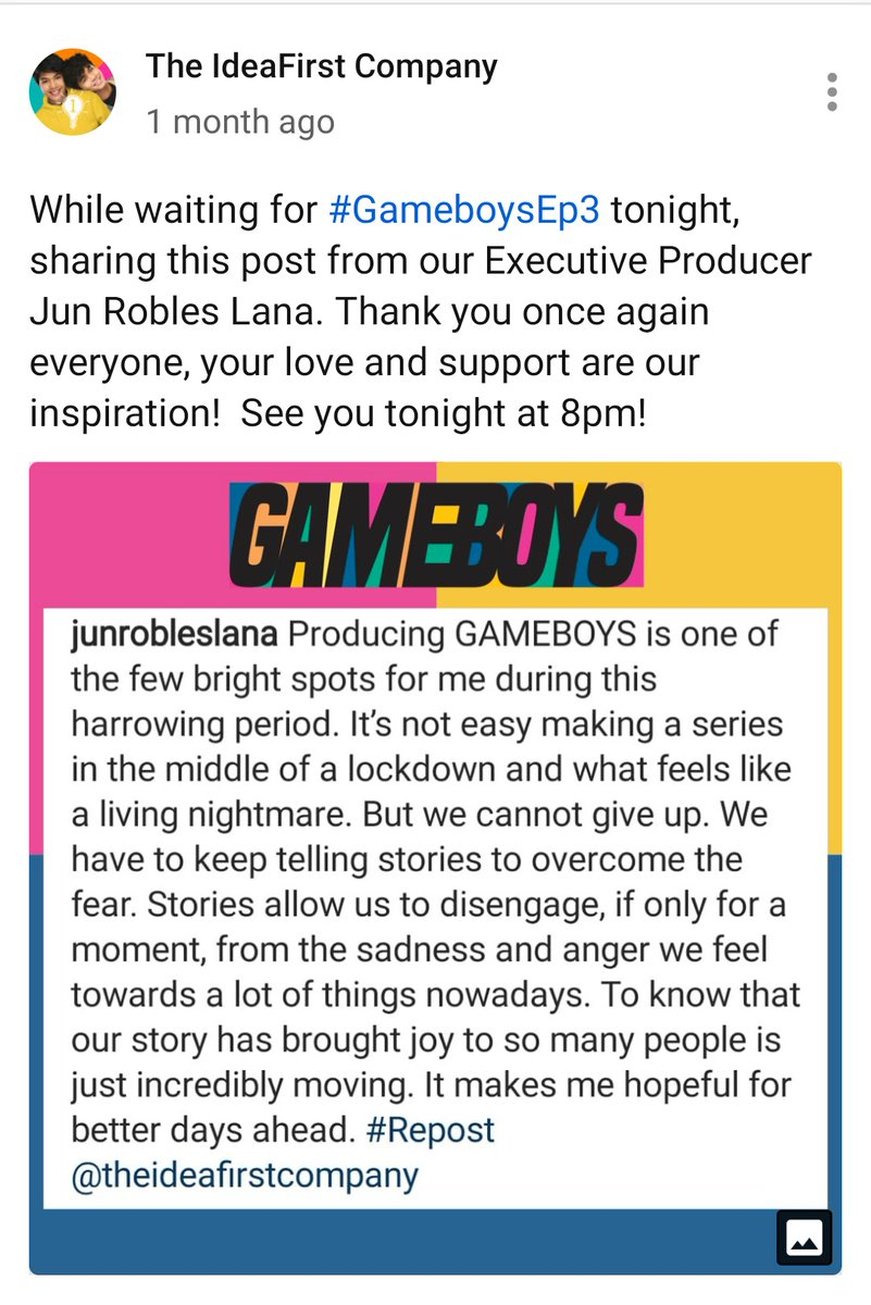 GAMEBOYS is an INTELLIGENT show that drives INTELLIGENT discourse about the genre.BL series are aimed towards normalizing gay relationships in society, and Gameboys did that too, but more than anything else, it normalizes HEALTHY AND POSITIVE CONVERSATIONS ABOUT STORYTELLING.