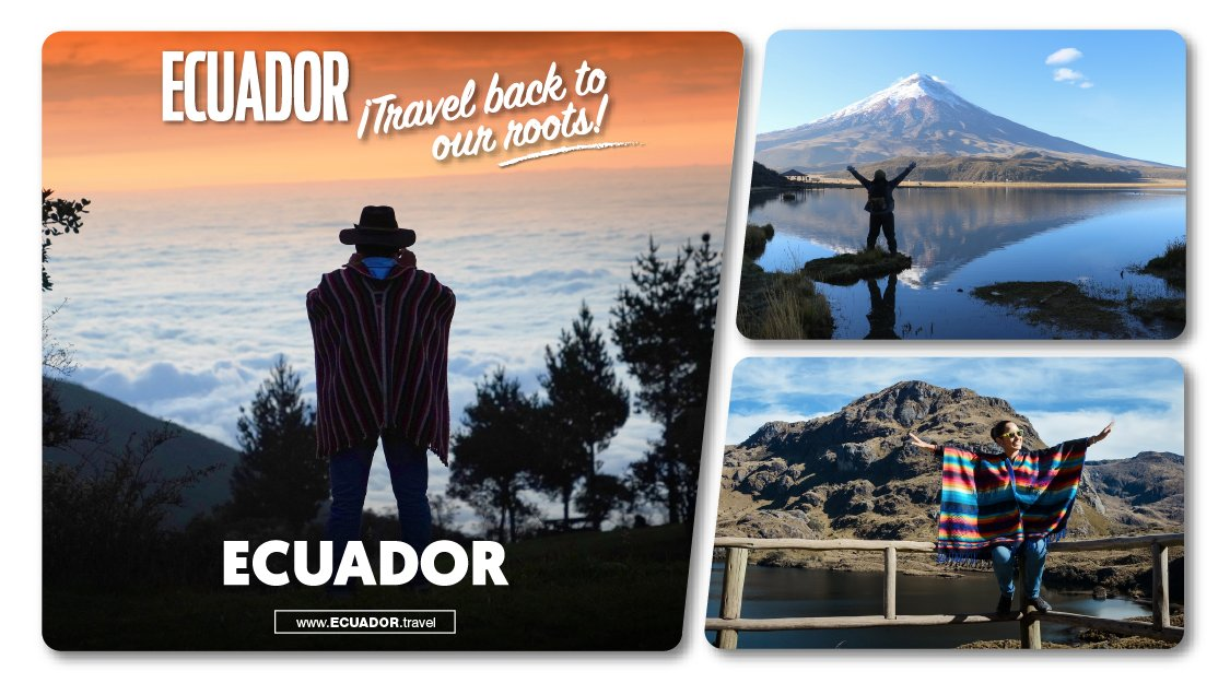 The doors of Ecuador are now open. We invite you to go after the simple things, to your roots. 🌱🌈🧘🏼♀️🌅 It's time to explore, enjoy, travel and live It's time to travel around Ecuador! 🇪🇨 #VisitEcuador #Nature #Adventure https://t.co/FYNG46dztG