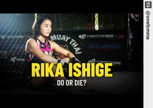 Wanna see Do Or Die For Rika Ishige? https://t.co/WTVILt22Ep #onefcmma https://t.co/OwTIJ4D23X