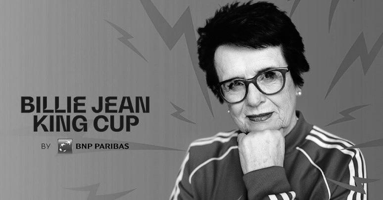 | Billie Jean King Cup: La Fed Cup estrena nuevo nombre | https://t.co/rxuPAW8ZKN  #tennis #WTA #BillieJeanKingCup 📸 @BJKCup https://t.co/djTICWmCcg