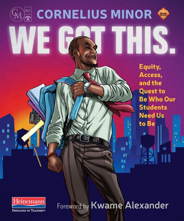 It's official: the cover for @MisterMinor's We Got This is now the gold standard for cover art on books on teaching.