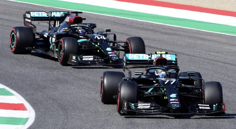 Maybe it's time for a totally new approach for Bottas. Maybe he is too 'nice', maybe being more controversial would help.   There just doesn't seem like Hamilton easily having the upper hand on his team mate will change, anytime soon.   #F1 https://t.co/p55FSIYd7J