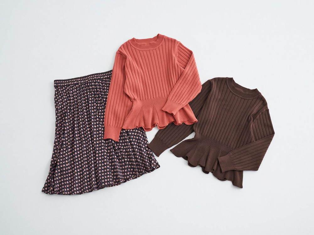 ロペピクニック×アポロ my style、チョコ色ニットやアポロ型チャーム付きバッグ -