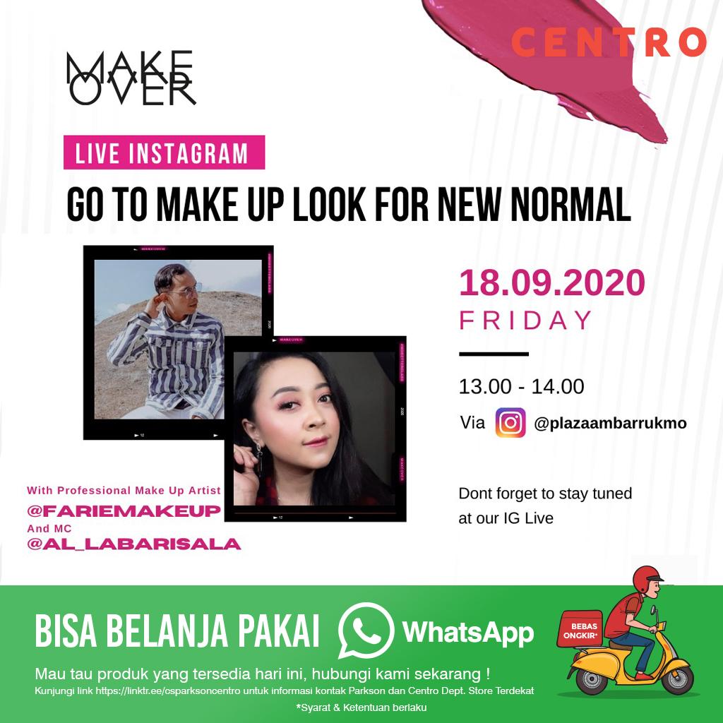 Hi Gorgeous!  Yuk ikutan LIVE streaming di instagram @makeover.jogja dan @centrodeptstore di @plazaambarrukmo, pastinya akan ada banyak tips tentang makeup! Jangan sampai terlewatkan ya karena akan ada give away special loh di sesi terakhir! Catat tanggal dan jamnya ya https://t.co/GEiaHyBkdp