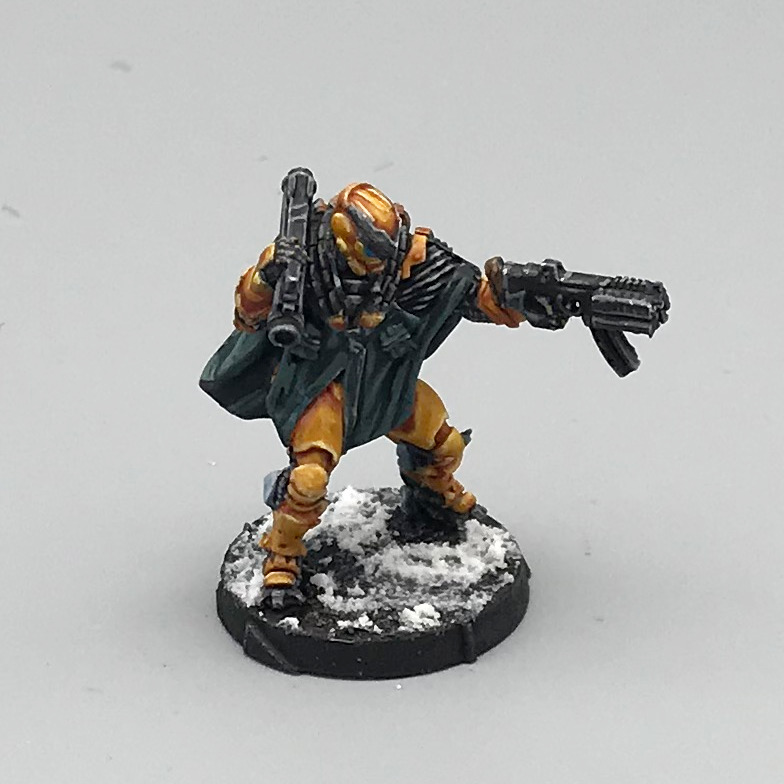 #infinitythegame #paintingminiatures #wargames #scalemodels #minis #miniaturepainting #hobby #miniatures Finally did the last step on my Yu Jing Zhencha. I'm pretty proud despite feeling a bit insecure about the execution of the paint job. https://t.co/sN5Ye6eC21