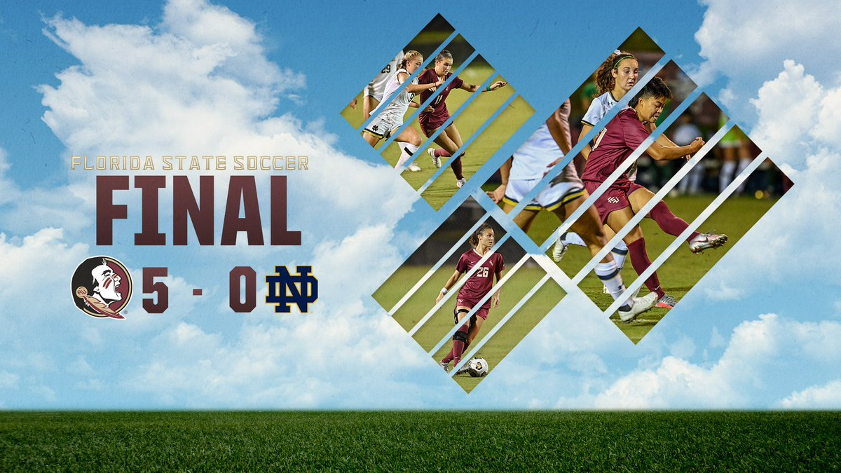 Not a bad way to start the season. Florida State takes down Notre Dame 5-0! #OneTribe