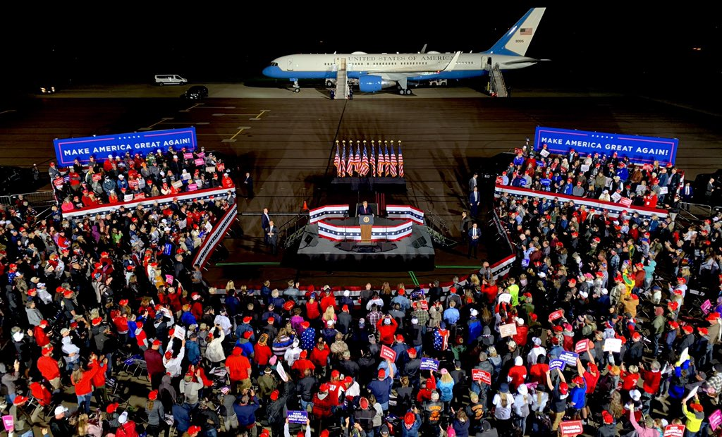 9/17/2020 | Mosinee, Wisconsin! #TrumpPence2020 #MAGA🇺🇸🦅 🌐https://t.co/bfDK8yBdQU https://t.co/EBQq7S0KdM