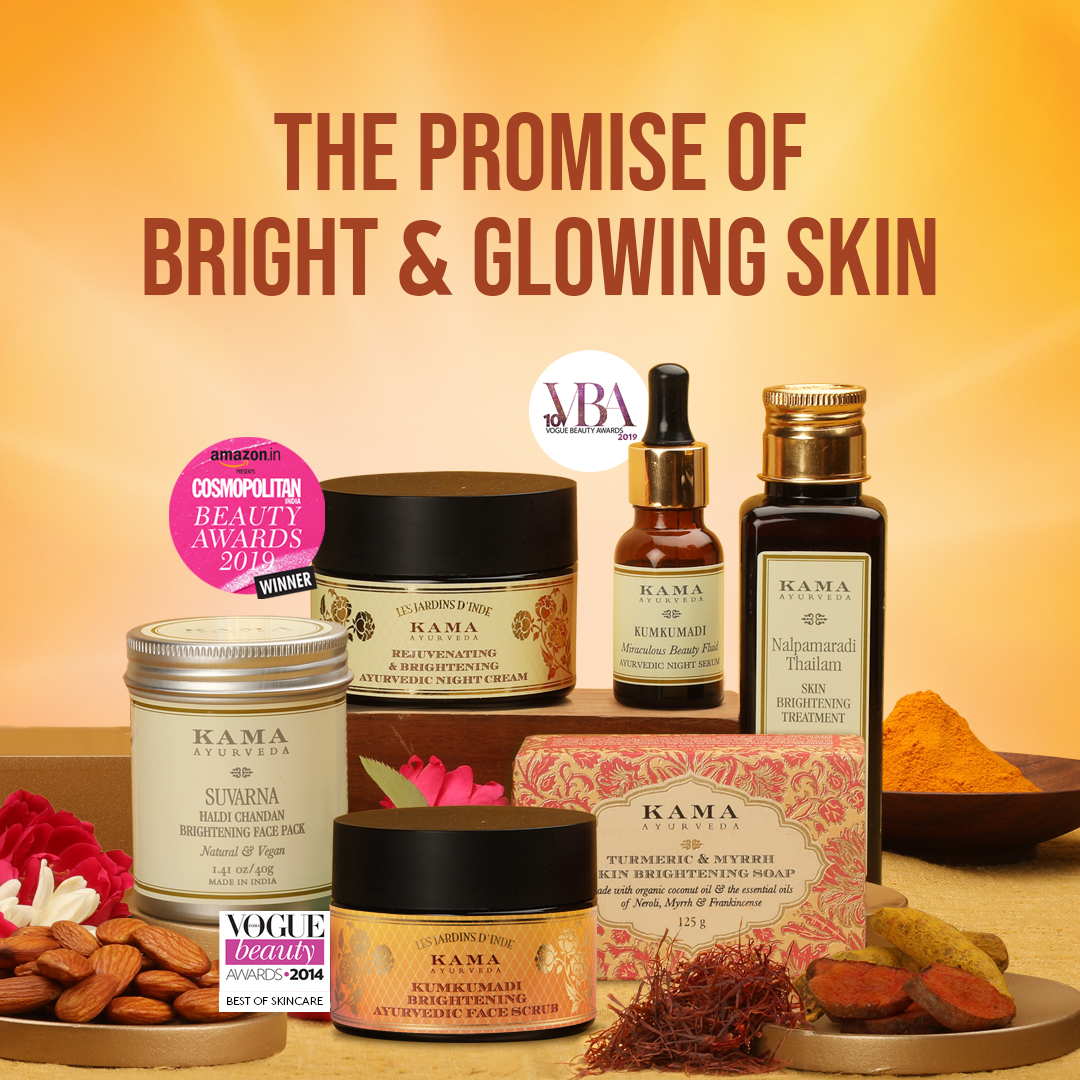 Bring out your true beauty with our authentic, time-tested range of Ayurvedic Beauty Products.  Shop online, in-store, or speak with our #Ayurveda Beauty Experts for essentials that reveal your #natural glow!  Visit: https://t.co/G1lkRKAxp1 or call: 1800-123-2031  #KamaAyurveda https://t.co/KH1eNQ1Uac