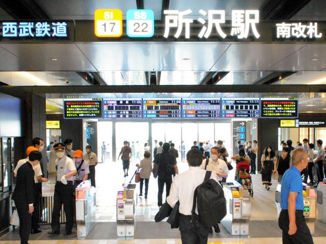 【全国初】西武所沢駅の発車曲「トトロ」に、ジブリが使用許可『さんぽ』『となりのトトロ』を5秒程度に編曲。新宿線と池袋線の1~5番ホームでそれぞれ異なる5種類を流す。11月3日から。