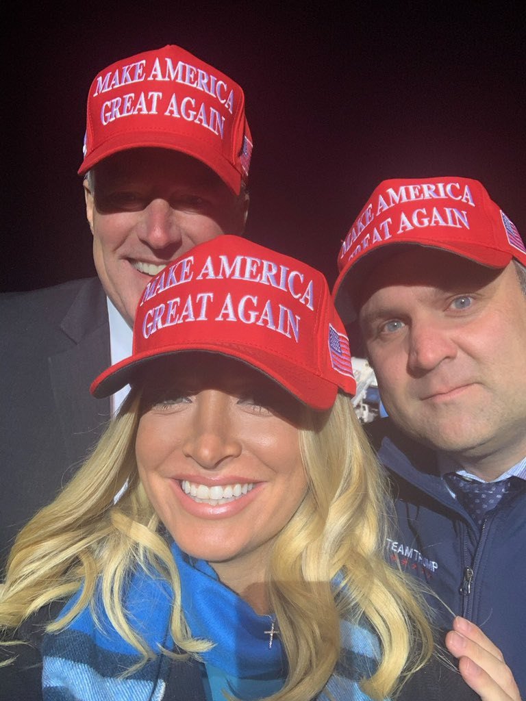 GREAT @realDonaldTrump rally in Wisconsin w/ @MarkMeadows & @DanScavino‼️ https://t.co/LpaaG9dyWf