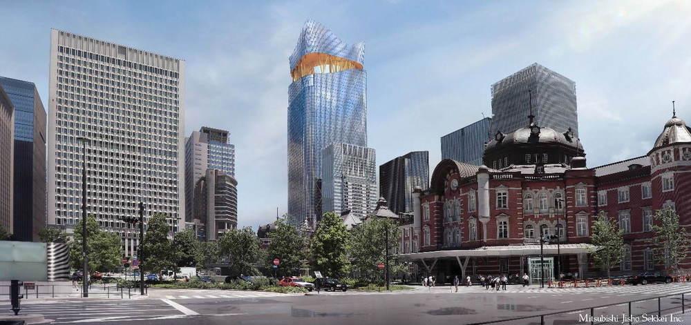 東京駅日本橋口前が変貌!「トウキョウトーチ」2027年度誕生展望施設・ホテル・商業ゾーンを整備する高さ390m高層ビル「トーチタワー」、横丁空間も備えた大規模広場など -