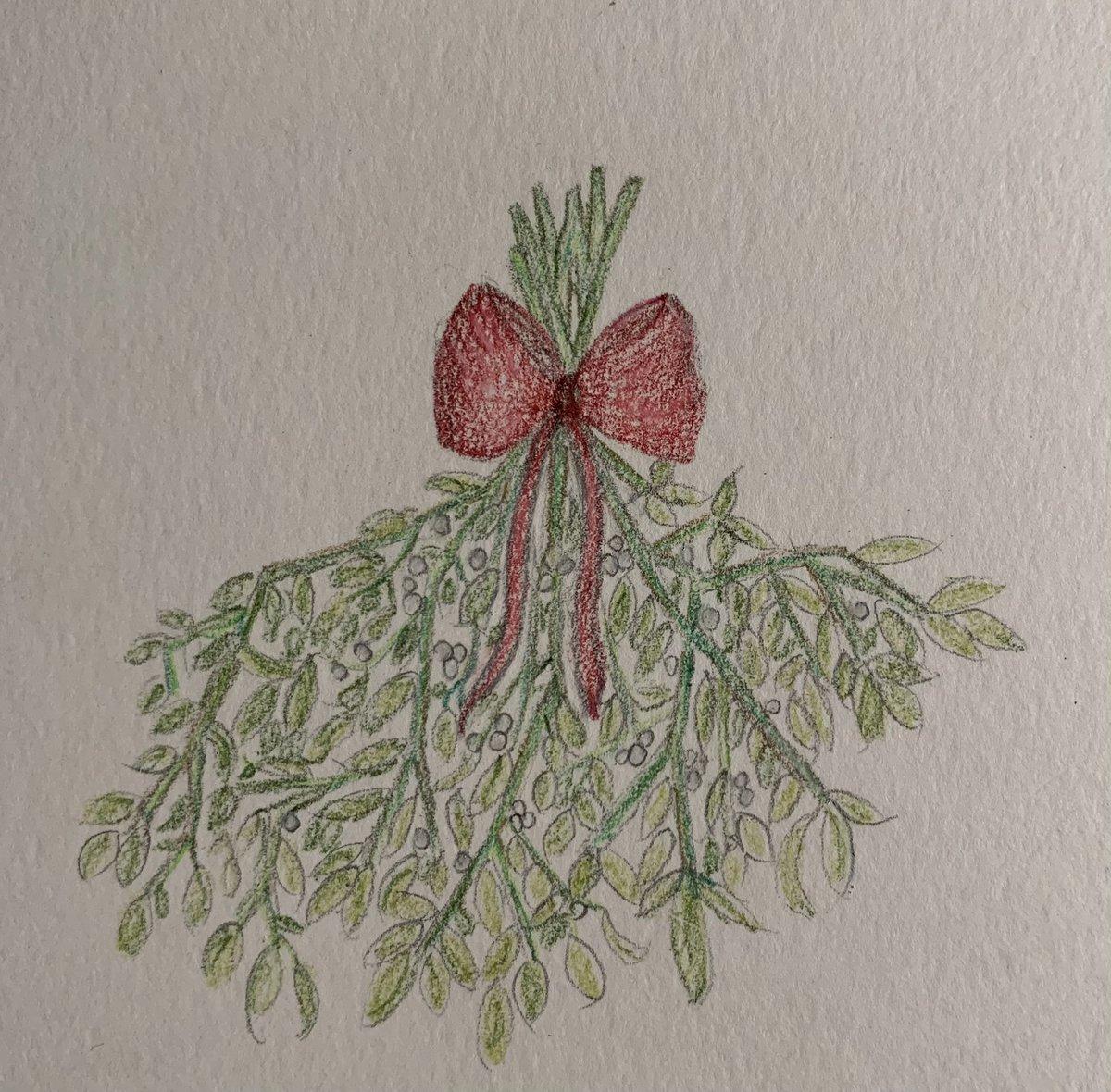 No SnowGlobe. Mistletoe instead!