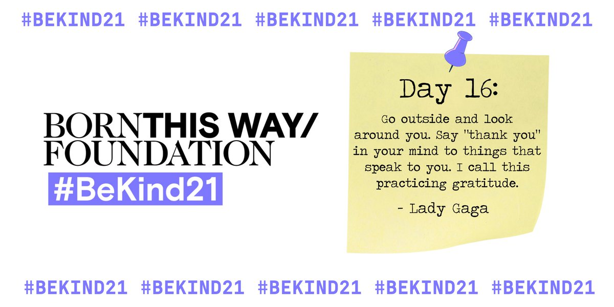 #BeKind21 @BTWFoundation ☀️ https://t.co/FS3cOB6OA2