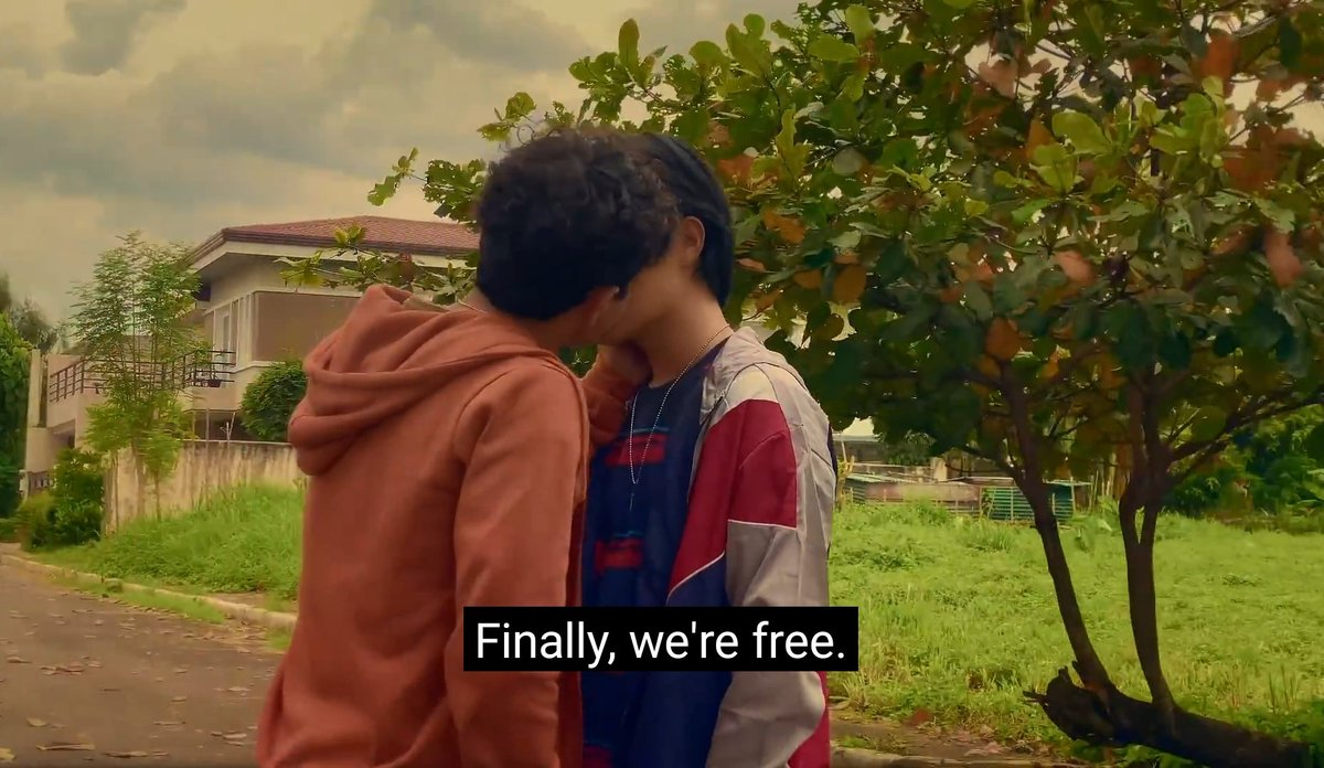 It's INCREDIBLY SATISFYING to hear this lyric, underscored by the words printed on the screen; a PERFECT statement of TRIUMPH, declaring that the time to liberate love in all its glory has come.It's NEXT LEVEL EUPHORIA when you realize this is being subbed in MANY LANGUAGES.