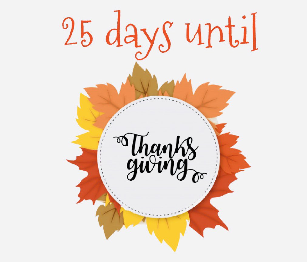 Yes, only 25 days until TᕼᗩᑎKᔕᘜIᐯIᑎᘜ.  TᕼᗩᑎKᔕᘜIᐯIᑎᘜ orders are 15% off before September 28.   #surpriseboxyyc #15off #deliveringsmiles #thursday #fruitboxes #thanksgiving #yyc #yycnow #calgarybusiness #freepik https://t.co/83MWa7k0om