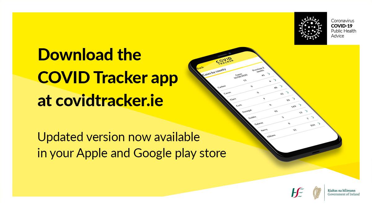 Be more than one in a million and download the COVID Tracker app at https://t.co/LejqNxtl9B today.     The app helps protect you and others by speeding up the contact tracing process. Contact tracing is a vital part of slowing the spread of the virus.     #COVID19 #StaySafe https://t.co/JXWf0EsvEb
