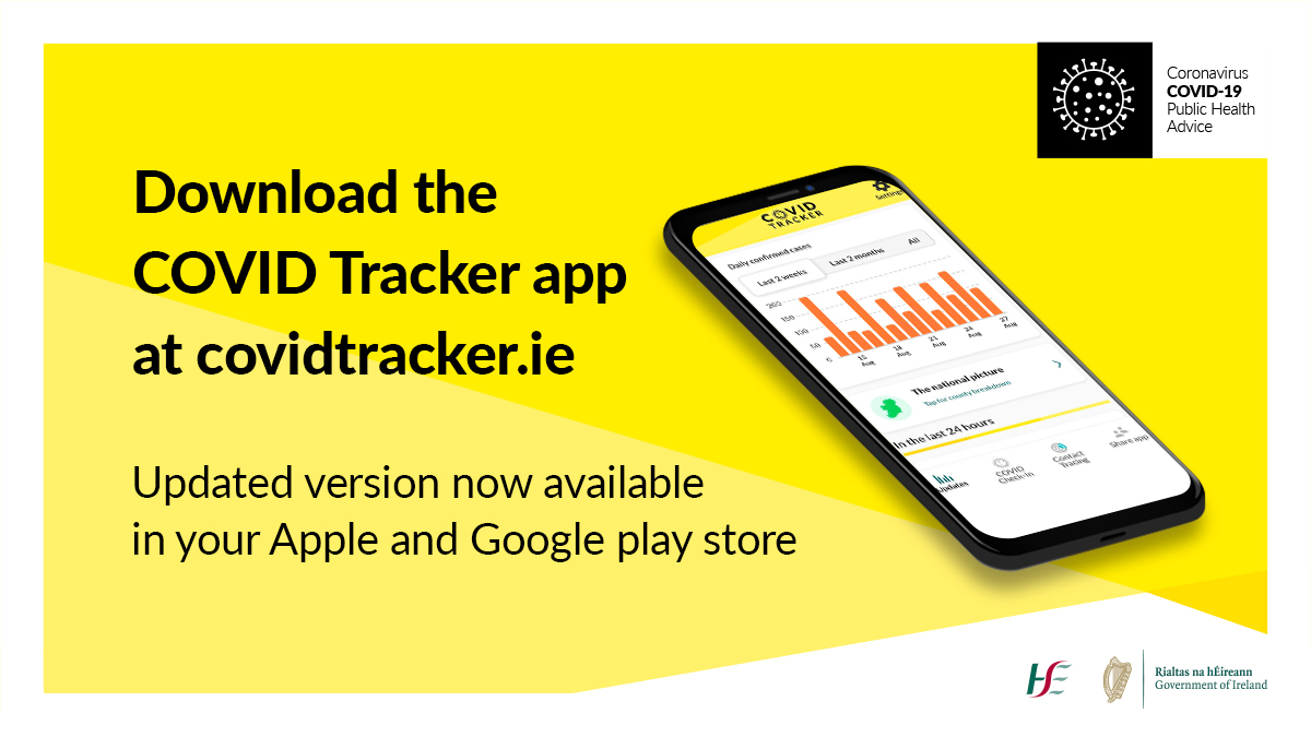We've released an updated version of the #COVIDTrackerApp with more information about #COVID19 cases in your county. Please download the new version of the app or make sure you update to the latest version of iOS or Android. Download the app here ➡️ https://t.co/LejqNxbKi3 https://t.co/jE32YAivNP