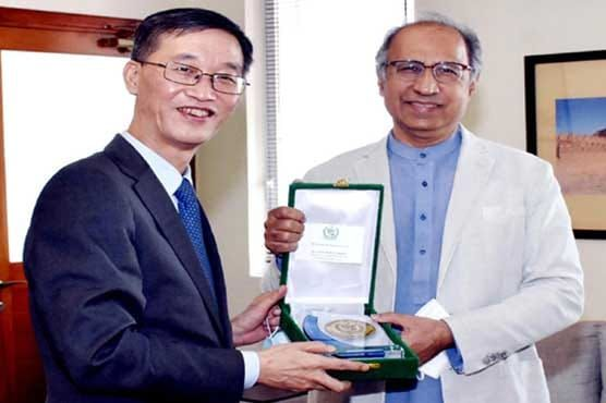 Chinese Ambassador to Pakistan Yao Jing said the #FATF review meeting to be held in October would be a good one for Pakistan in a farewell meeting with Dr. Abdul Hafeez Sheikh @a_hafeezshaikh, Advisor to PM Imran Khan on Finance.  #ChinaPakistan #PakChinaFriendship 🇵🇰🇨🇳 https://t.co/MgiwNS3DJi