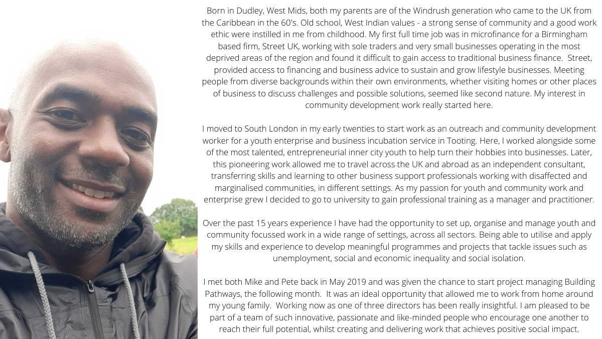MEET THE TEAM!  Introducing Philip Mills, our Project Director!   Read here how Philip's passion for community development and wide range of hands on experience have led him to Building Pathways...  #MeetTheTeam #Community #Outreach #LoveConstruction #BuildingPathways #Leadership
