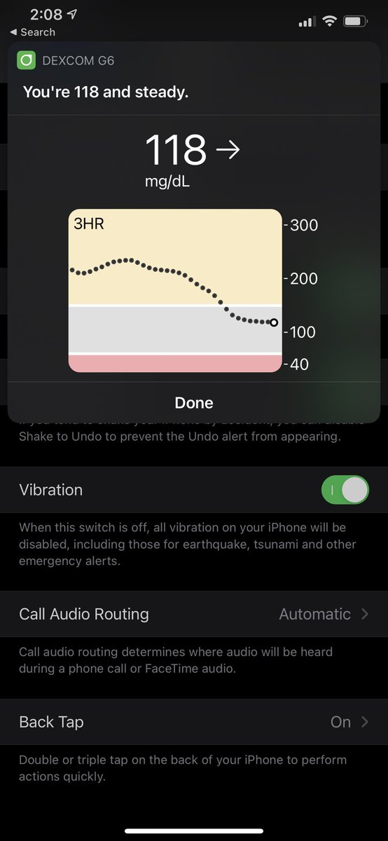 "test Twitter Media - Pro tip for #diabetes folks and #dexcom users with #ios14 (and usable for anything!) - go to accessibility in settings and turn on ""back tap!"" I double or triple tap my phone and it tells me my blood sugar via shortcut! https://t.co/FdNW4Ii5qz"