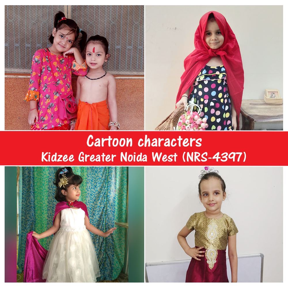 With the help of #cartoons, kids can learn about the world around us, about new emotions, life issues, and other important things!  Kidzee Greater Noida West dressed up as different cartoon #characters and enjoyed themselves thoroughly!  #Kidzee #KidzeeStudents #Fun #FunActivity https://t.co/Lz4idjlidj