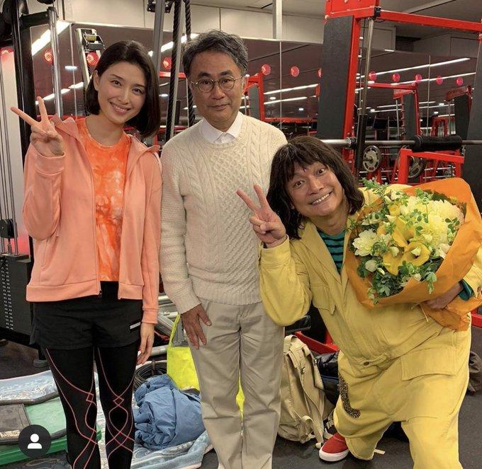 1 pic. 本日からAmazonプライムにて #三谷幸喜 さん作、演出、 #香取慎吾 さん主演の #誰かが見ている  が放送開始になりました😊❗️ 憧れのお二人と夢のような時間を過ごさせていただきました^_^ 全話一斉配信です。ぜひご覧ください(^。^)