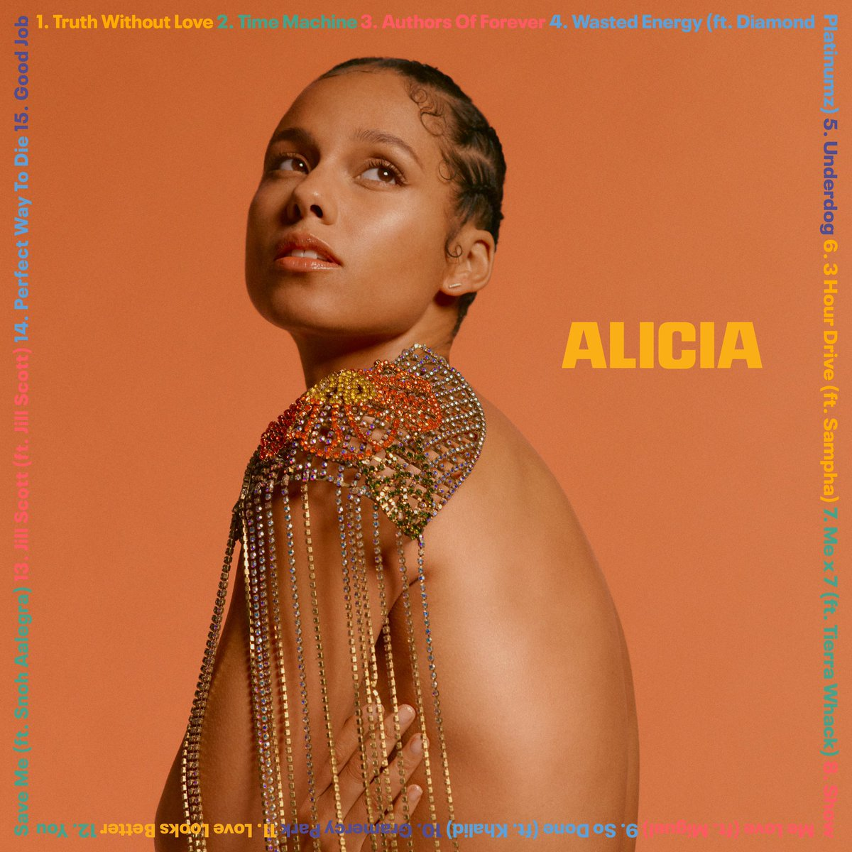 #ALICIA is out right now!! I'm grateful to share all the different sides of me with you. I'm grateful you love me as I am! Press play and let the magic begin 💜💜💜🥳🥳🥳 ⁣ ⁣ And tell me your favorites!! I can't wait to hear 😘😘😘