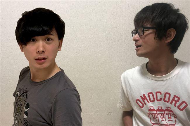 全編リモートでコント記事を書いてみました!この画像はお互いに「右を向いている/左を向いている写真を撮ってください」とお願いしたものなんですが……日本語ってむずかしい!!
