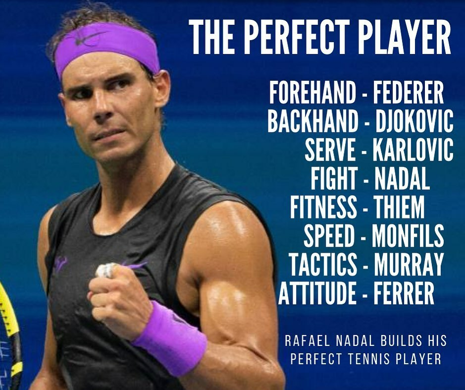 The perfect tennis player according to Rafael Nadal 💪 click the link in our bio @lovetennis.com_ to watch our new video of Rafa training on clay. #tennis #tennis🎾 #tennisball #tenniscourt #rafa #nadal #lovetennis https://t.co/0ew5uITt30