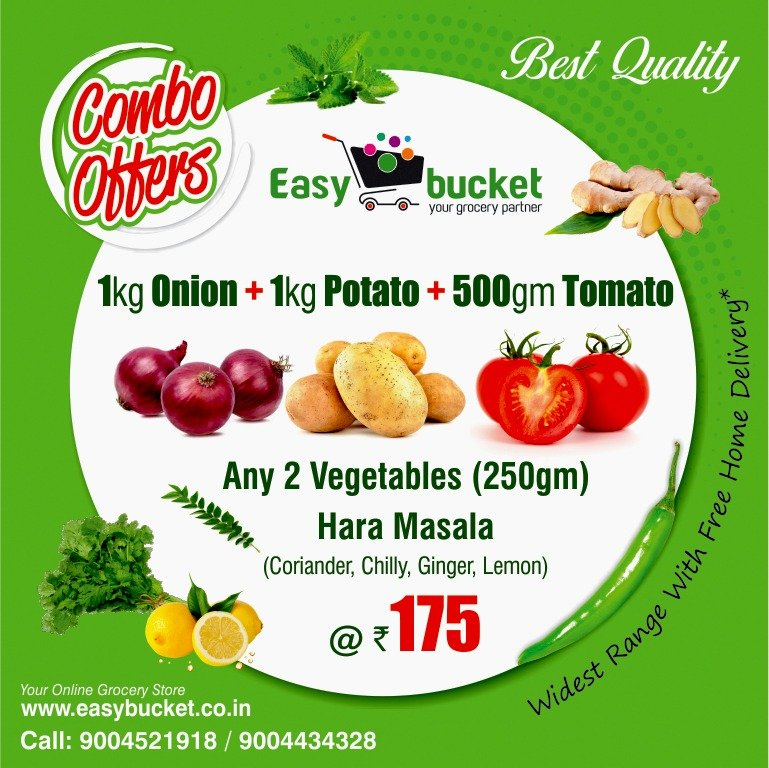 #Weekends are for #greatdeals & #offers ! Get #Bestquality of #onions, #potatoes and all #freshvegetables at #unbeatable prices.   You can #call us or what's app us on 9004521918/ 9004434328   #Morningoffers #Fridayfeeling #onlineshopping #groceryonline #fruits https://t.co/NOuZ9789BX