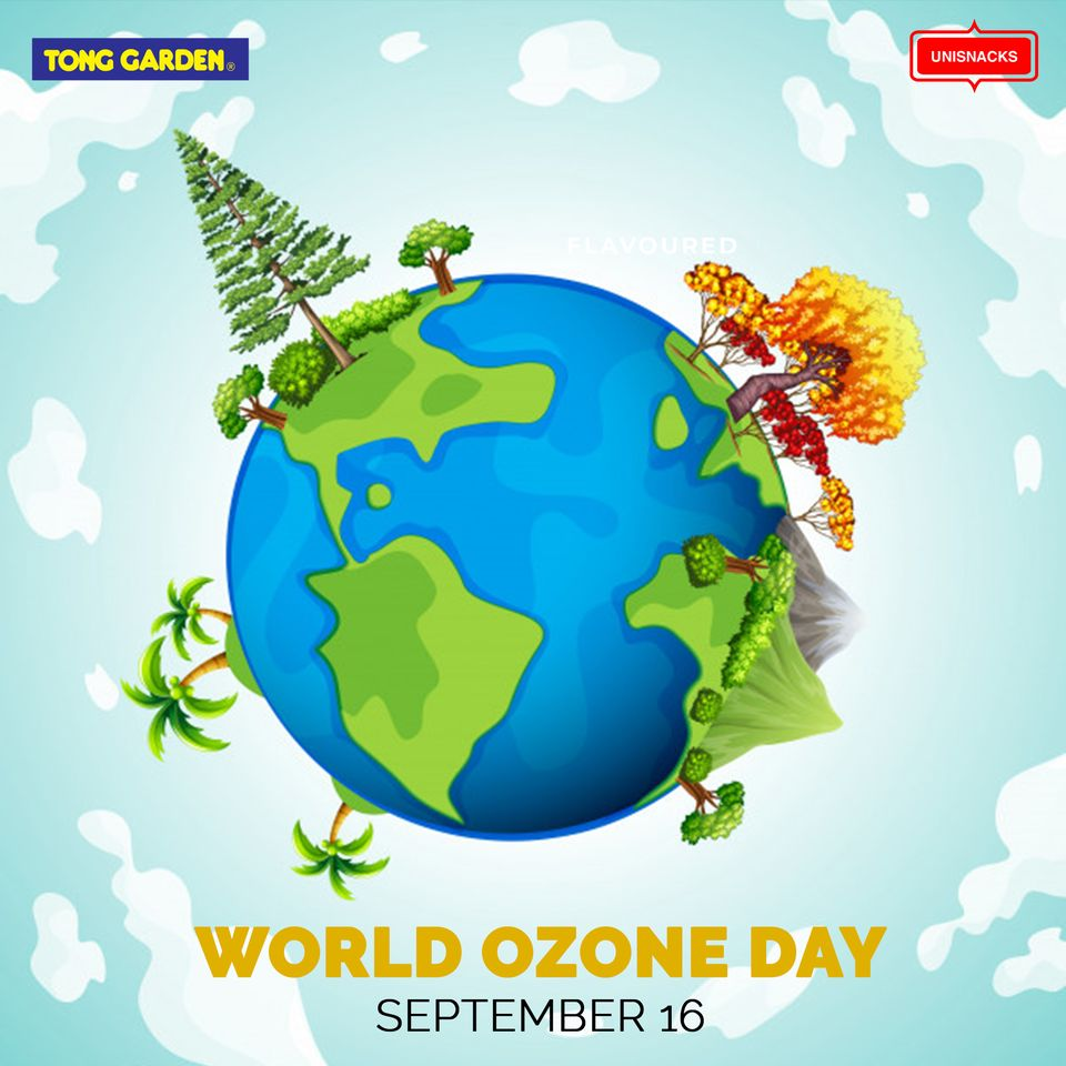 """""""Let's take an oath to protect the ozone layer and save life on earth this World Ozone Day!""""  September 16 , 2020  #WorldOzoneDay #WOD2020 #LetsProtectOzoneLayer #SaveThePlanet #BetterFuture #Products #Unisnacks #UnisnacksUK https://t.co/KqtRBsXxyX"""