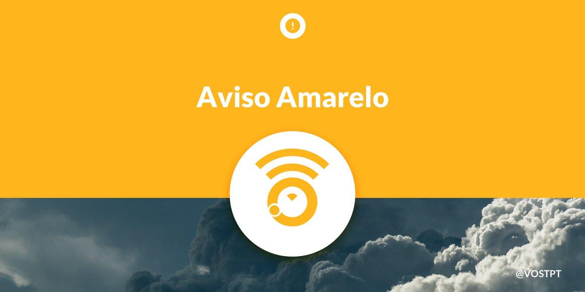 ℹ️⚠️⛈ #AvisoAmarelo devido a #Trovoada até às 15:00h de hoje 18SET20 para os distritos de #Lisboa, #Setubal e #Santarem ⛈⚠️ℹ️ https://t.co/mpEsfpRayU