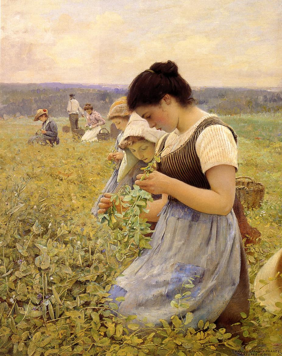 Charles Sprague Pearce - Women in the fields 1890 ca  #arthistory #arte #fineart #gallery #figurative #paintings #pintura #pittura #landscape #portrait #goodmorning #buongiorno #summer #september #fields #country #farm #charlesspraguepearce https://t.co/3UiOmHBU3v