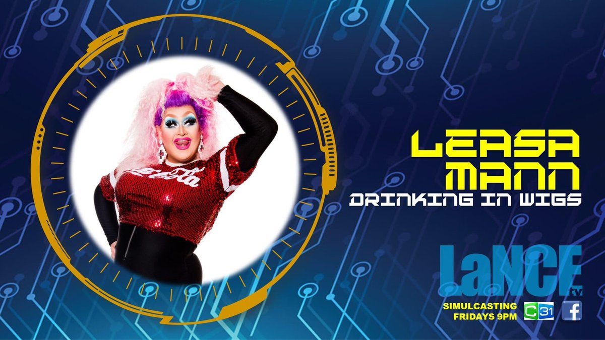 Why Rent a boy, when you can Leasa Mann? She's a darling of the Melbourne Drag and burlesque scene. Her career has spanned several decades, multiple states and internationally. Lance TV is thrilled to have Leasa Mann on tonight's show. @C31Melbourne  @leasa_mann https://t.co/sshsqjrXm1