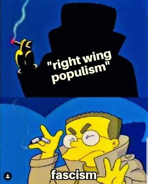 @mathewcruick @drmistercody Don't let that shit fool you. It's fascism through and through.