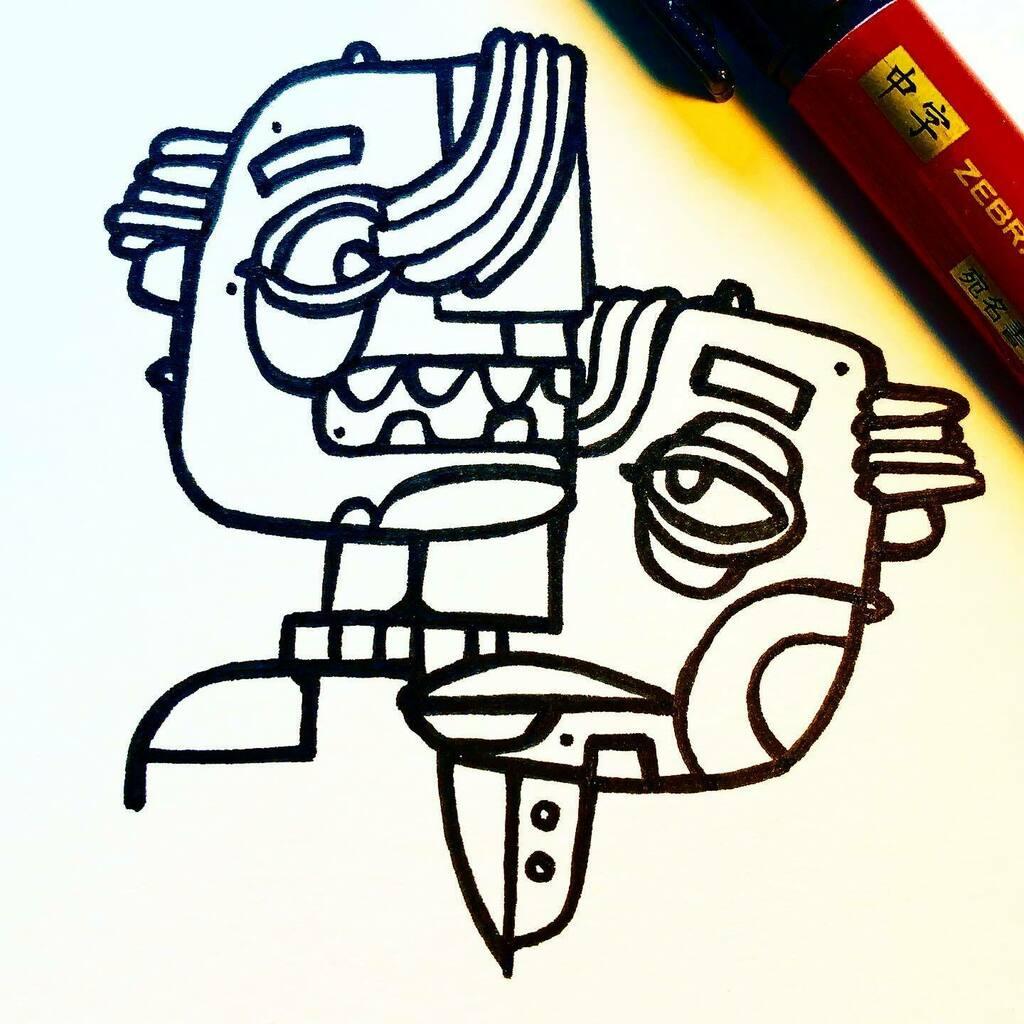 Dear Doodle Diary: some days you just can't pull it together  . . . . . #doodlediary #doodlesofinstagram #doodling #coloring #indyhall_arts #sketch #doodle #doodler #sketchbook #ink #instaart #artoftheday #drawdaily #lineart #dailyillustration #illustrat… https://t.co/K1f26ytvyv https://t.co/K8XMuGxhKK