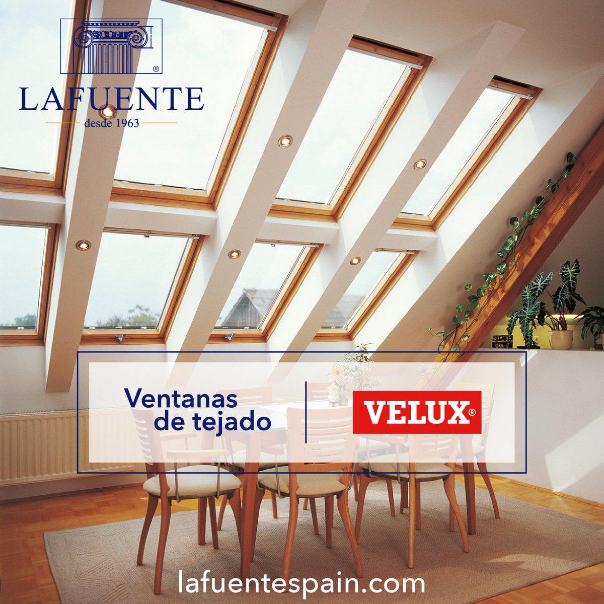 ¡Buenos días!😄 Ilumina tu espacio con luz natural gracias a las ventanas de tejado VELUX, disponibles en distintas medidas y acabados. Descubre sus ventajas: https://t.co/uS2BkZxSiY Si necesitas más información, escríbenos a 📩lafuente@lafuentespain.com #VELUX #ventana #LAFUENTE https://t.co/UoyK4Hd0IE