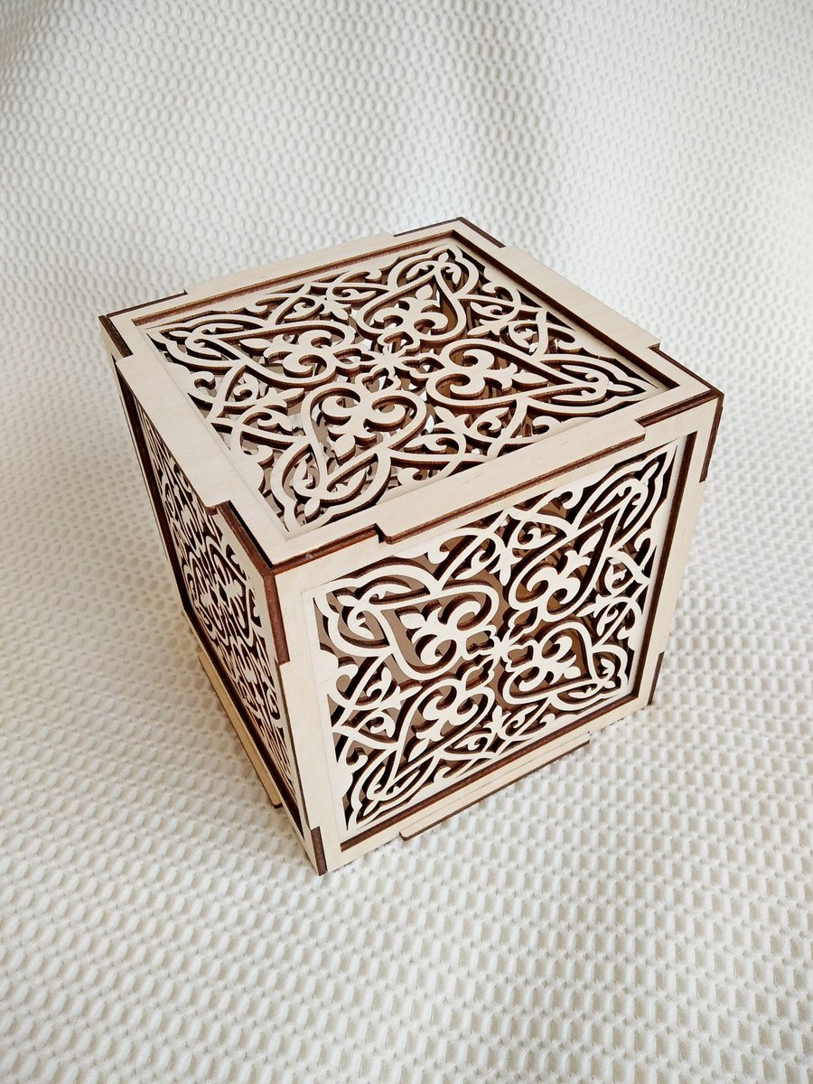 Excited to share the latest addition to my #etsy shop: Carved jewelry box digital svg dxf template vector laser files. Laser pattern vector files for laser cut. Cift box Glowforge template. https://t.co/7bEsBJn32X #wedding #jewelrymaking #floral #yes #thanksgiving #jew https://t.co/6tkgOUXVnU