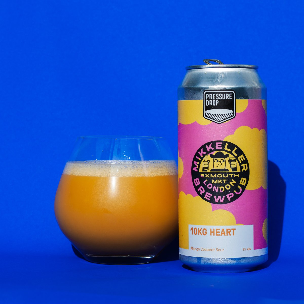 Launching at 9am today!  10kg Heart- 8% Mango Coconut Imperial Ice Cream Sour (Collab with @MikkellerBeer Brew Pub  In Dreams- 5.8% Idaho-7 & Mosaic New England Pale  https://t.co/3oaFB3aQbl https://t.co/4D9VzJSvvA