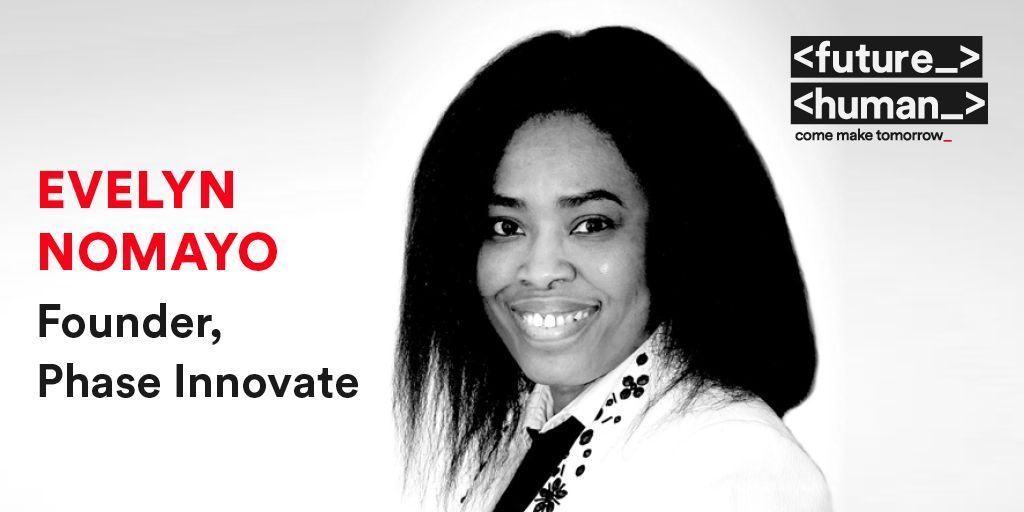 <FUTUREHUMAN SPEAKER _> @evelynnomayo is a full-stack developer, a data scientist, an educationist, a technology consultant, and a woman-in-tech evangelist.   #FutureHuman Oct 29th-30th #ComeMakeTomorrow #RTE Tickets available at: https://t.co/O4fEJwWPcV   @rte @siliconrepublic https://t.co/bFtxyGC70z