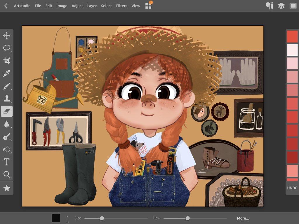 练习,有参考 #artstudio #sketchbook #illustration #sketch https://t.co/ykbpWNKeeA