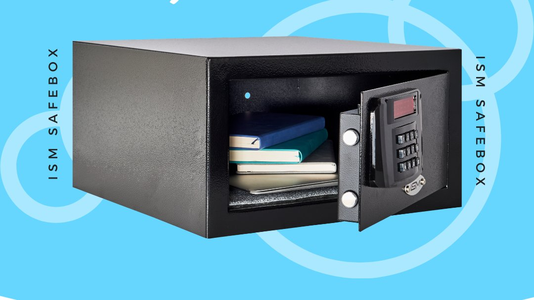 Secure your valuables with ISM SAFEBOX.  #safebox #security #hotelequipments #hotelroom https://t.co/HU4kQnArsd