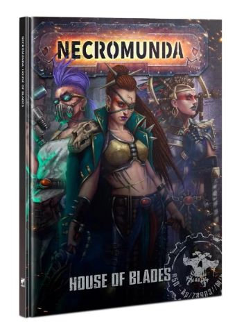 Dive deeper into NECROMUNDA with House Escher. Discover their history and their secrets in the new NECROMUNDA: HOUSE OF BLADES book. https://t.co/DtztcGb0dx #newarrival #necromunda #gamesworkshop #houseofblades #houseescher https://t.co/aOrm996jJO