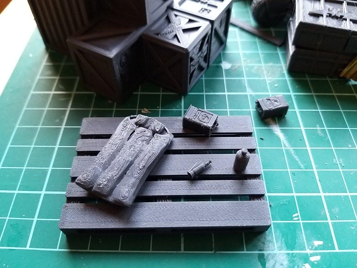 At which point do you admit you're not really building terrain, but just doing Grimdark Dollhouses? 😇 #Necromunda #necromundaterrain #3dprintedterrain https://t.co/BpwHDjlTk5