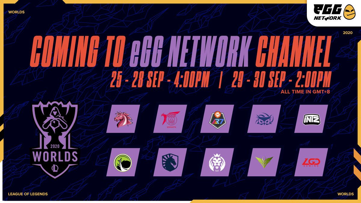 📺What to watch📺  So many MPLs, #Worlds2020, #PMPLMYSG S2 Grand Finals and more!  #whattowatch #MPLIDS6 #MPLMYSGS6 #mplph #PMPL2020 #PMPLS2 #MLBB #PUBGMobile #dota2 #SembangGame #TheNationals #everygoodgame #eGGNetwork  https://t.co/2Mtb4eVAKF https://t.co/EjS6POY6GD