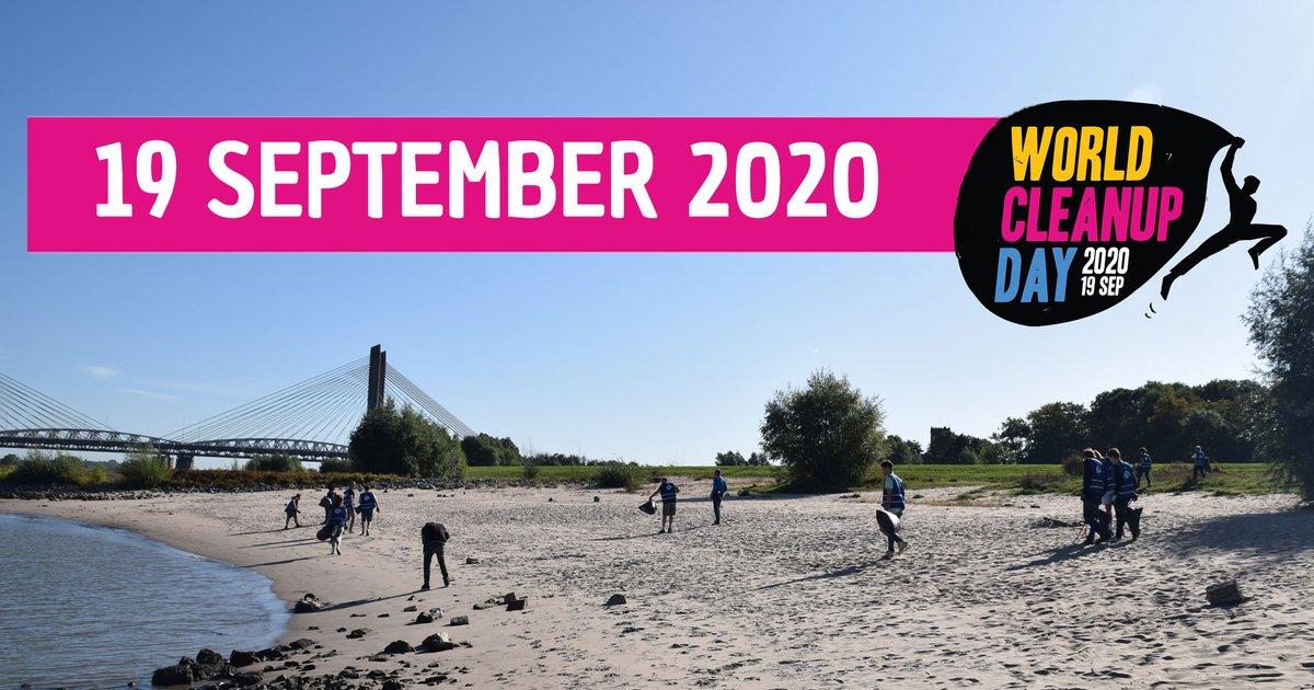 Morgen is het #worldcleanupday Doe je mee? Meld jouw actie aan of sluit je aan bij een actie in de buurt. Ga naar https://t.co/DEe3lA4yTv  #plasticvrijewadden #beachcleanup #wijsmetdewaddenzee https://t.co/xksE2NnYSb