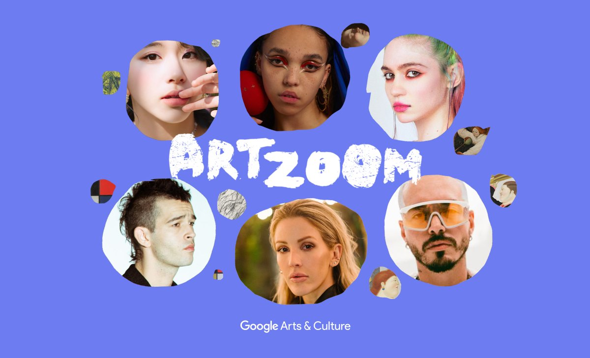 A global art tour celebrating works from around the world 🌏 Created and recorded during lockdown in collaboration with some of today's most powerful musical voices.   Check out the entire season two of #ArtZoom now available on @YouTube: https://t.co/qKyoGnmPCU https://t.co/VTGxmEs5gd